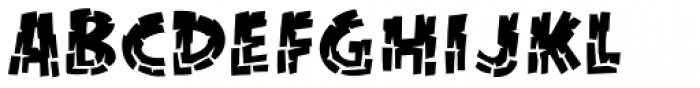 KillZone Inline Regular Font LOWERCASE