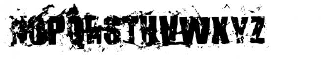 Killer Ants Bold Font UPPERCASE