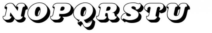 Killernuts 3D Font UPPERCASE