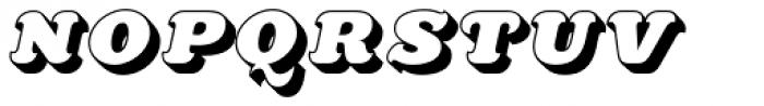 Killernuts 3D Font LOWERCASE