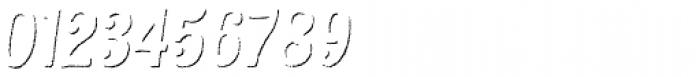 Kiln Sans Shadow Italic Font OTHER CHARS