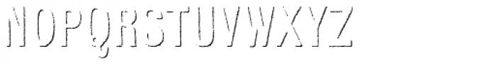 Kiln Sans Shadow Font UPPERCASE