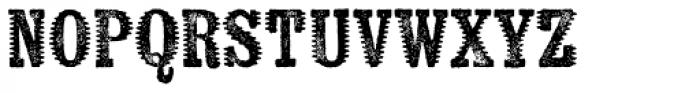 Kiln Serif Spiked Font UPPERCASE
