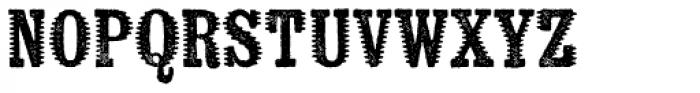 Kiln Serif Spiked Font LOWERCASE