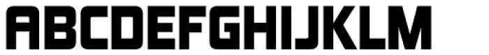 Kimberley Black Font UPPERCASE
