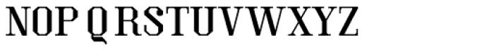 Kimbo Capitals Font LOWERCASE