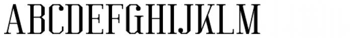 Kimbo Regular Font UPPERCASE