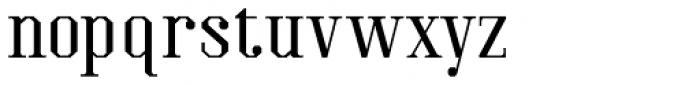 Kimbo Regular Font LOWERCASE