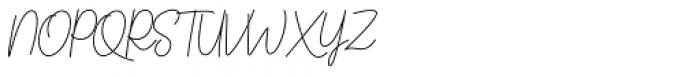 Kinantey Regular Font UPPERCASE