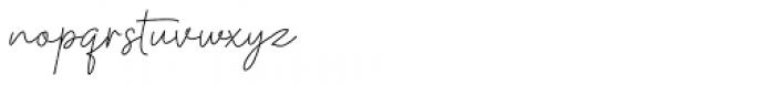 Kinantey Regular Font LOWERCASE