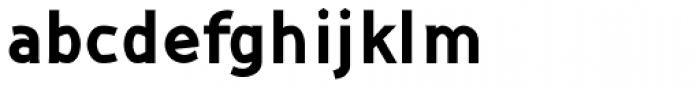 Kindah Bold Font LOWERCASE