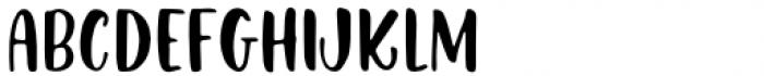 Kindly Regular Font LOWERCASE