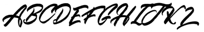 Kindness Typeface Brush Font UPPERCASE