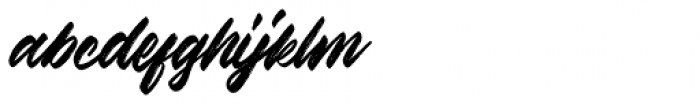 Kindness Typeface Brush Font LOWERCASE