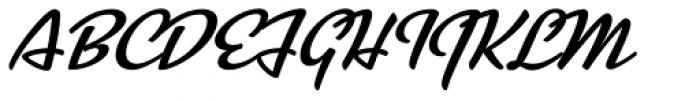 Kinescope Font UPPERCASE