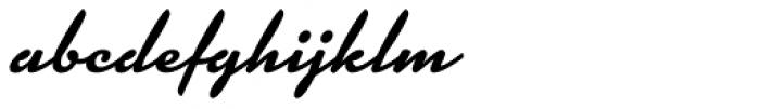 Kinescope Font LOWERCASE