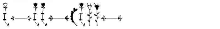 Kinfolk Pro Flowers Font OTHER CHARS