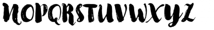 Kinfolk Pro Rough Font UPPERCASE