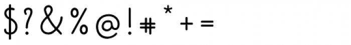 Kinfolk Pro Script Font OTHER CHARS