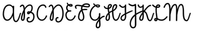 Kinfolk Pro Script Font UPPERCASE