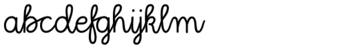 Kinfolk Pro Script Font LOWERCASE