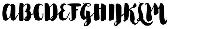 Kinfolk Pro Smooth Font UPPERCASE