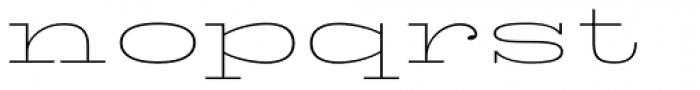 King Tut Thin Font LOWERCASE
