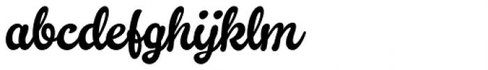 Kingfisher 1 Font LOWERCASE