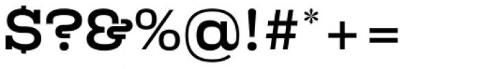 Kinghorn 105 Medium Font OTHER CHARS