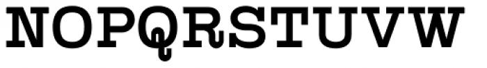 Kinghorn 105 Medium Font UPPERCASE