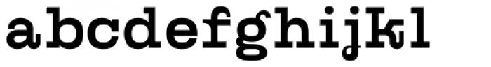 Kinghorn 105 Medium Font LOWERCASE