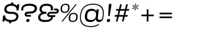 Kinghorn 205 Light Oblique Font OTHER CHARS