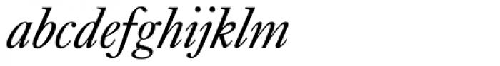 Kings Caslon Display Italic Font LOWERCASE