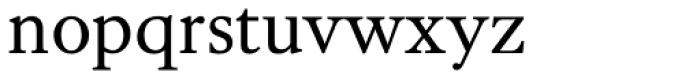 Kings Caslon Text Font LOWERCASE