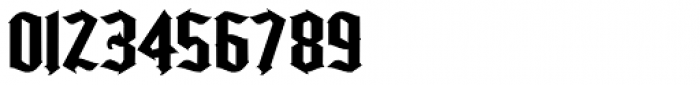 Kingshead Alternate Gothic Font OTHER CHARS