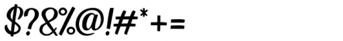 Kingsman Regular Font OTHER CHARS