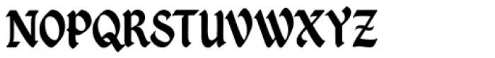 Kingthings Petrock Pro Font UPPERCASE