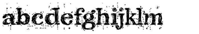 Kingthings Scrybbledot Pro Font LOWERCASE