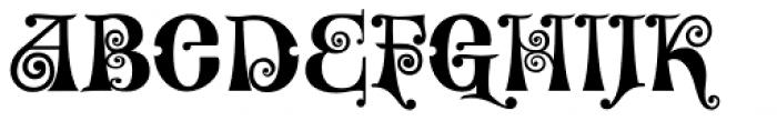 Kingthings Willowless Pro Font UPPERCASE