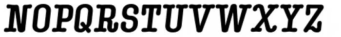 Kinsey Heavy Italic Font UPPERCASE