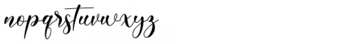 Kinsley Regular Font LOWERCASE