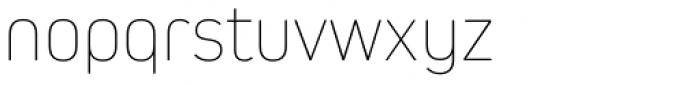Kiro Thin Font LOWERCASE