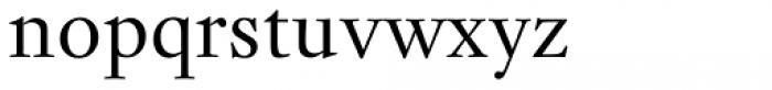 Kis Antiqua Now TH Pro Regular Font LOWERCASE