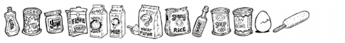 Kitchenbats Font UPPERCASE