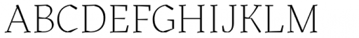 Kitsch Extralight Font UPPERCASE