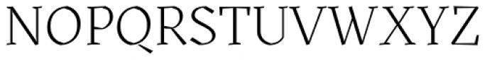 Kitsch Light Font UPPERCASE