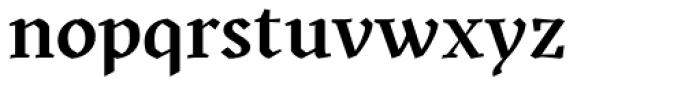 Kitsch Semibold Font LOWERCASE