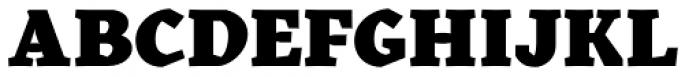 Kitsch Text Black Font UPPERCASE