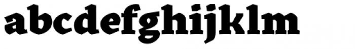 Kitsch Text Black Font LOWERCASE