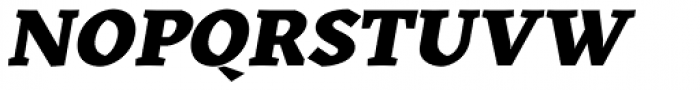 Kitsch Text Extrabold Italic Font UPPERCASE